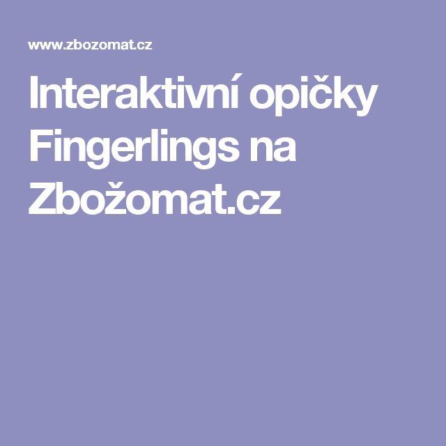 Interaktivní opičky Fingerlings na Zbožomat.cz