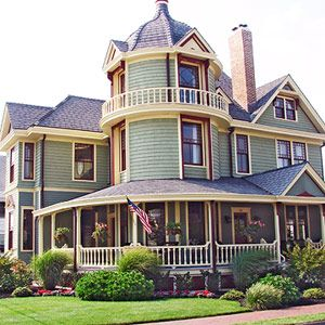 157 Best Victorian Houses Green 1 Images On Pinterest