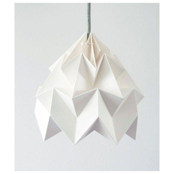 Lampe Origami Tulipe Blanche