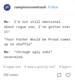 Rogue One problems