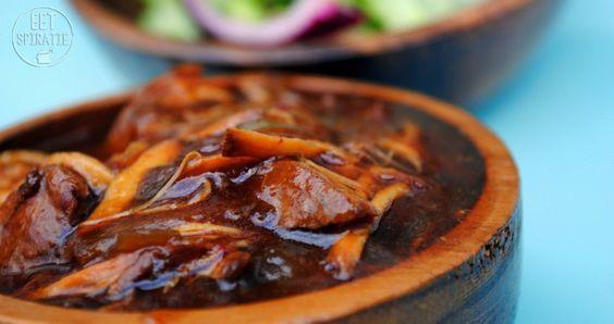 Honing Soja Kip uit de Slow Cooker