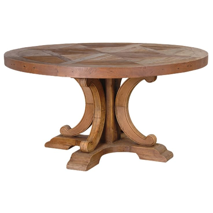 Best 25 Rustic Round Dining Table Ideas Only On Pinterest