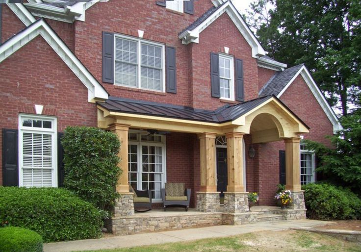 front porch addition colonial - How Front Elevation Can be Altered ...