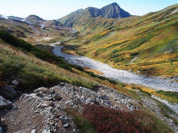 立山三山縦走の登山ルート案内 北アルプス登山ルートガイド。Japan Alps mountain climbing route guide