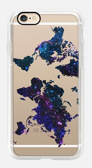 Casetify iPhone 7 Case and Other iPhone Covers - World Map by Marta Olga Klara   #Casetify