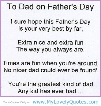 best fathers day poems quotes sayings