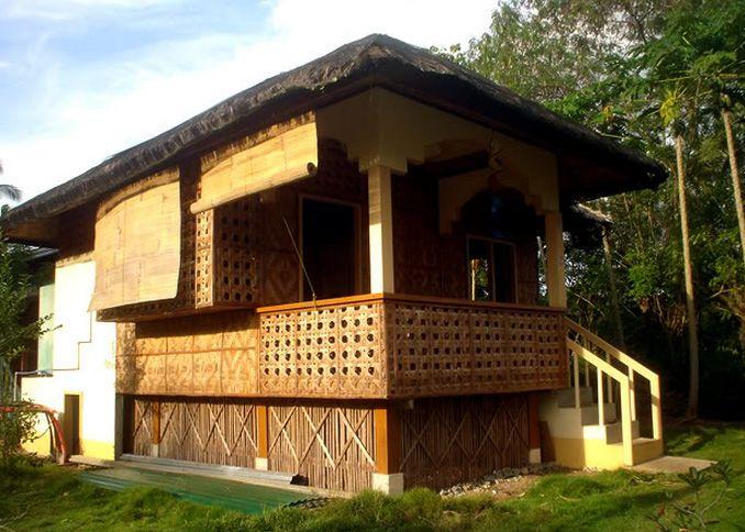 family nipa hut