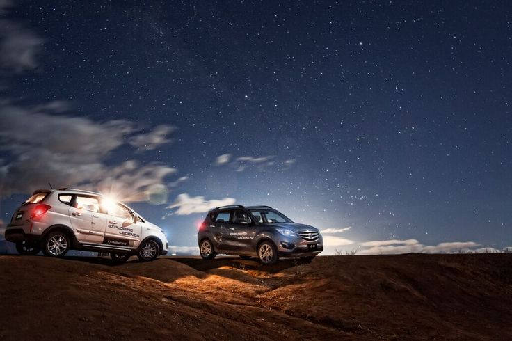 Changan CS 35 y Cx 20, en el desierto de la Tatacoa en Exploring Legends Colombia