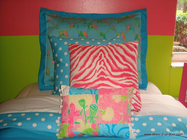 lilly pulitzer bedding lets get tropical custom teen bedding set dorm bedding