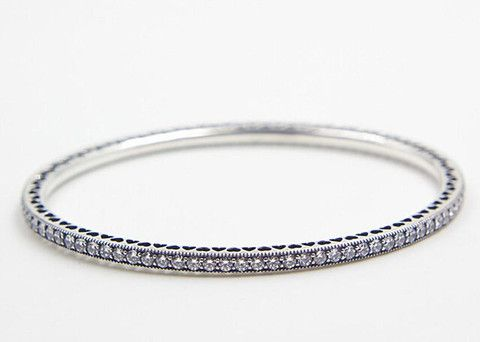 Sterling Silver Twinkle Bangle