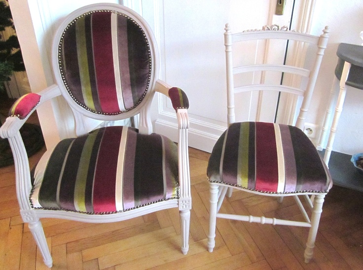 97 best images about meuble patines et tapisserie on for Chaises louis xvi occasion