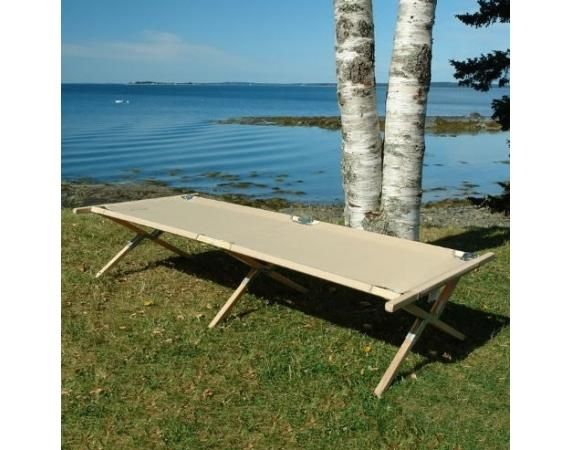Maine Heritage Wooden Cot | Vermont's Barre Army Navy Store
