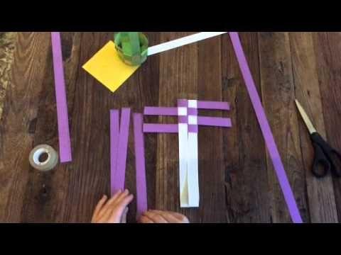 koszyczek  Paasmandje maken - YouTube