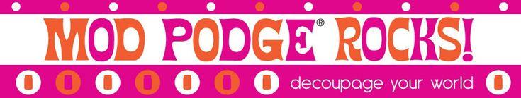 A whole blog on mod podge...who knew?