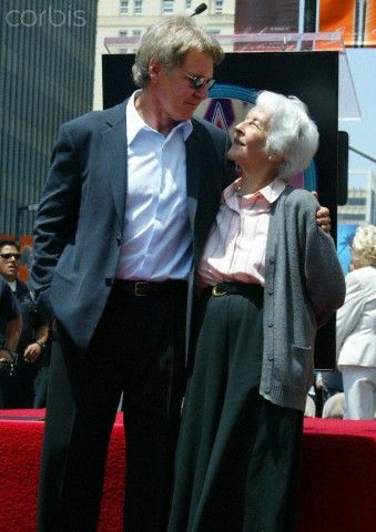 Harrison Ford & his mother