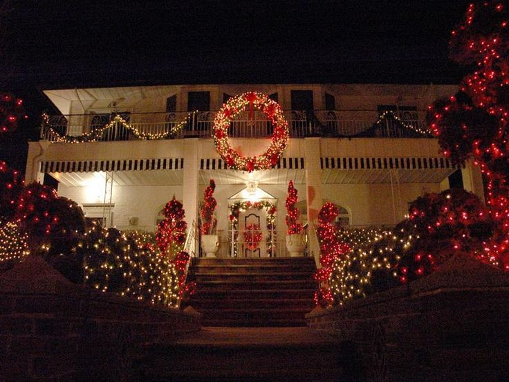 Outside Christmas Light Ideas | Old Fashioned Outdoor Christmas Light Decorating  Ideas