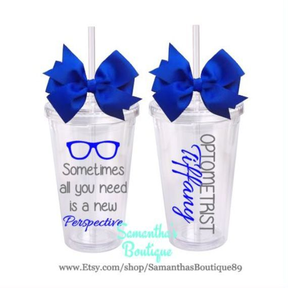 Sometimes all you need is a new Perspective Optometrist/ Optical Technician Classic Tumbler With Name by SamanthasBoutique89 on Etsy