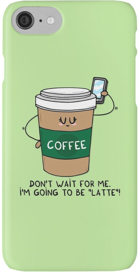 I'm going to be LATTE by Adrian Serghie