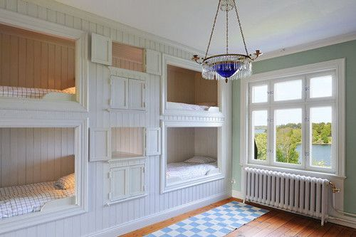 unusual children's beds | Pictures - 20 Unique children's alcove beds that