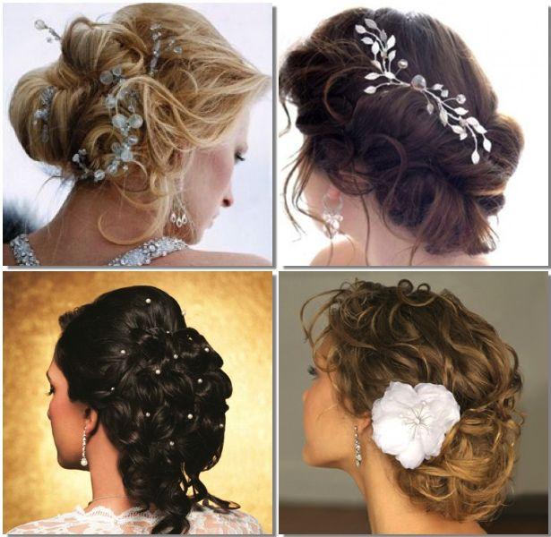 Peinados novias 2013