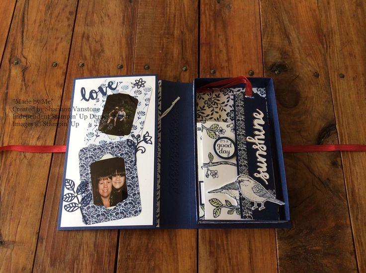 Memory/card album inside