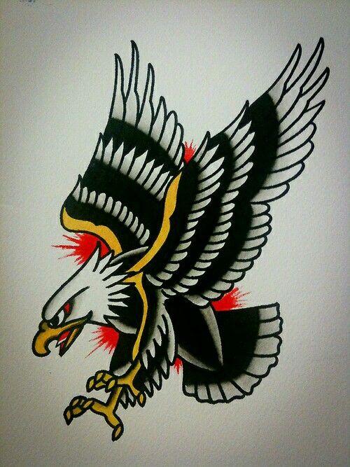 Águia http://www.retroj.am/traditional-tattoos/