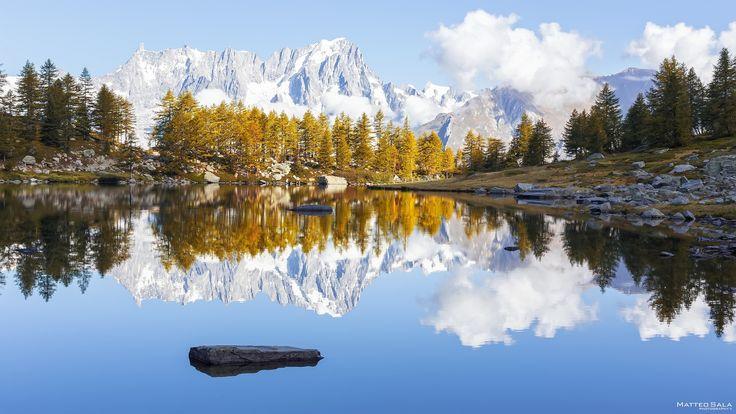 Arpy Lake, mirror by Matteo Sala on 500px