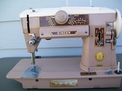 Vintage Industrial Strength Singer 401A Slant Sewing Machine Attachments Manual+ | eBay