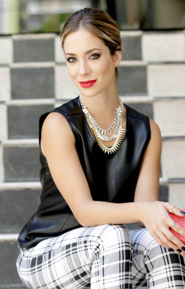Calça xadrez - Helena Lunardelli