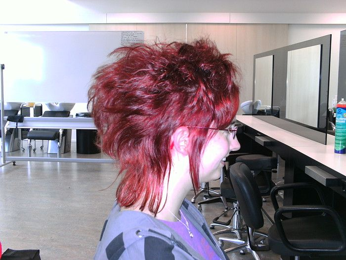 Red mohawk - spring 2011
