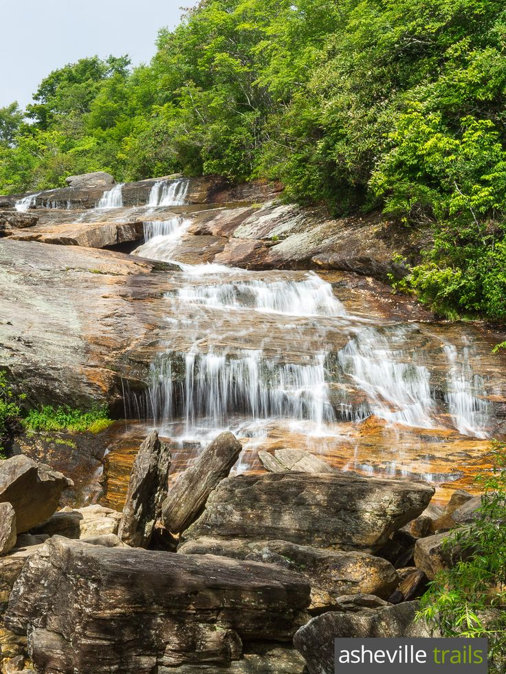 Hike the Graveyard Fields Trail on the Blue Ridge Parkway to a pair of beautiful waterfalls