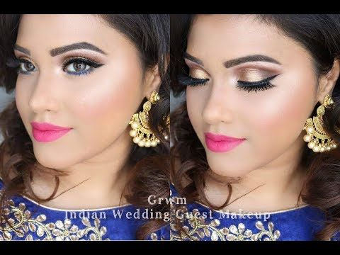 Grwm Wedding Guest Makeup Look Deshi Indian Stani Http