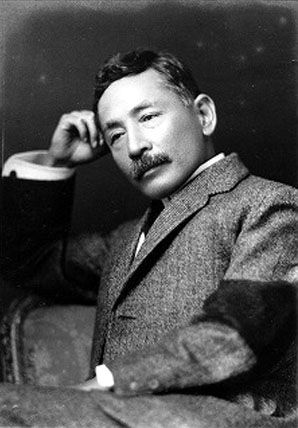 NATSUME Soseki (1867-1916) - a Japanese novelist, a scholar of British literature and composer of haiku poems. He has had a profound effect on almost all important Japanese writers since.