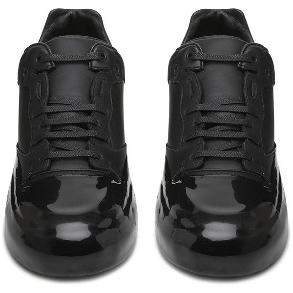 Balenciaga Mens Multimares Dipped Low ($980) ❤ liked on Polyvore featuring men's fashion, men's shoes, men's sneakers, mens sneakers, balenciaga mens sneakers, balenciaga mens shoes, men's low top sneakers and men's low top shoes