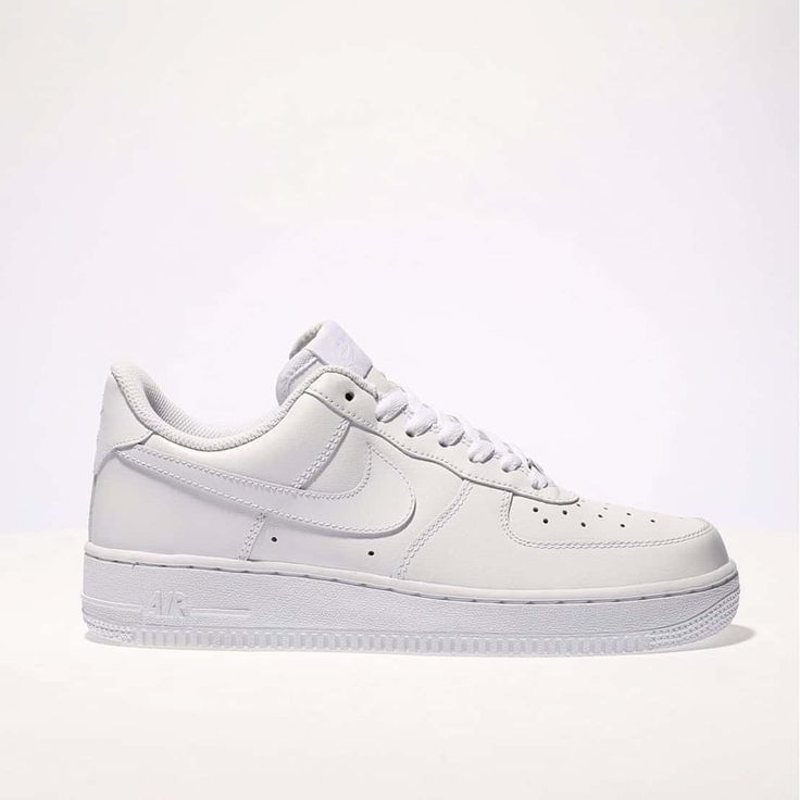womens white nike air force 1 low trainers | schuh