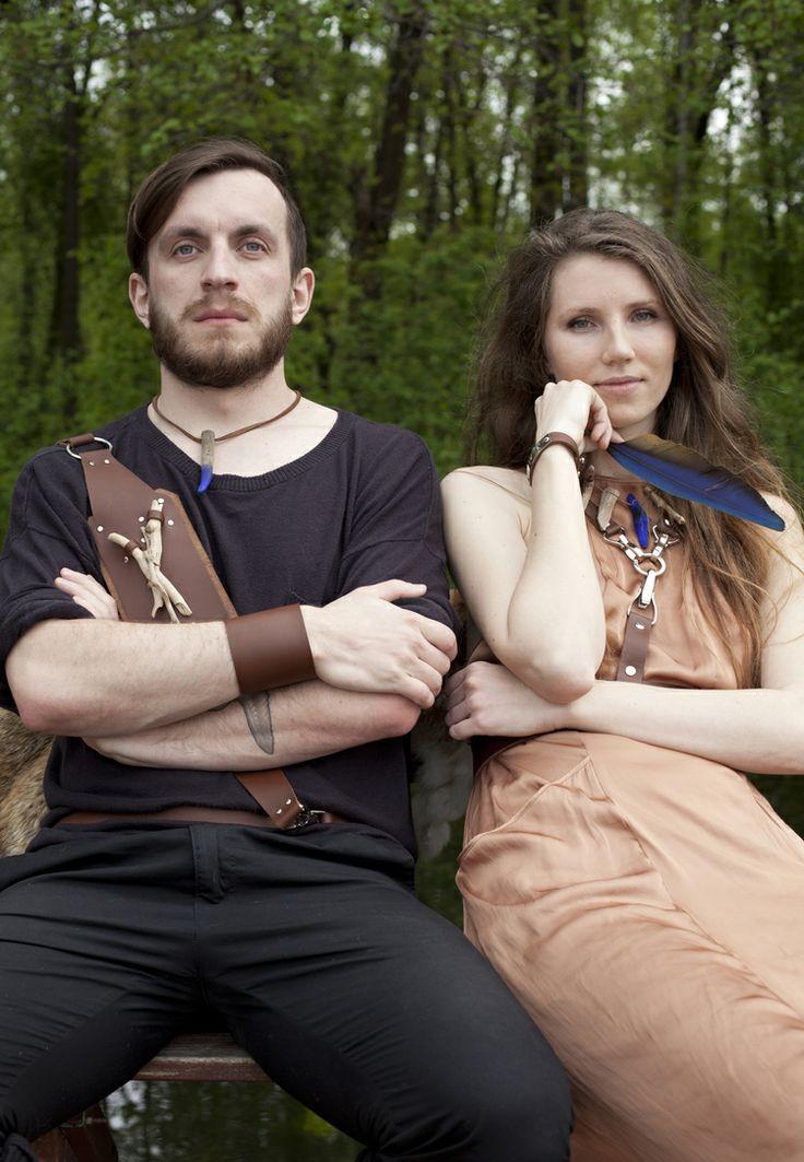 Valhalla | Found in the forest.  photography: Trzeciej Wiedzy Oko models: Justyna, Krystian concept: Laloux