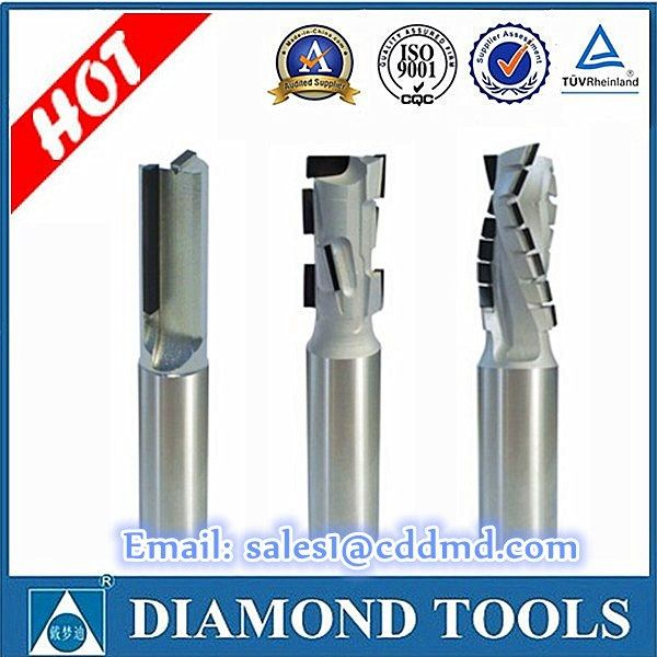 Free shipping cost to all countries D12x12xH25 Z=1+1 PCD spiral router bit for…