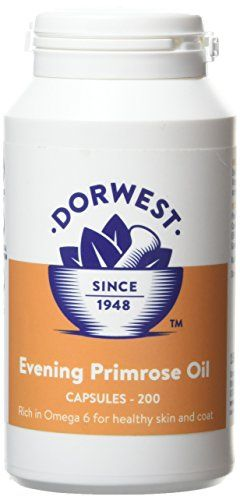 From 20.90 Dorwest Herbs Evening Primrose Oil Capsules For Dogs And Cats 200 Capsules