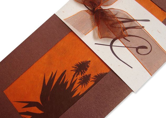 Cultural Wedding Invitations: African Themed Invitations Templates