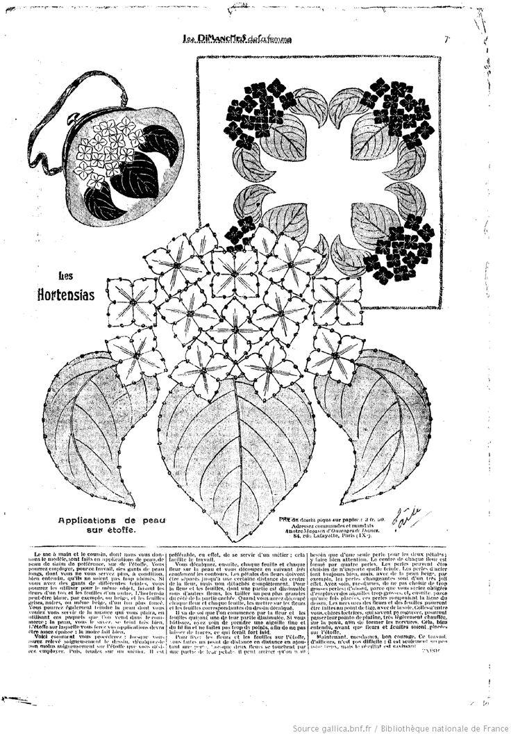 Les Dimanches de la femme : 1922/03/26 les Hortensias