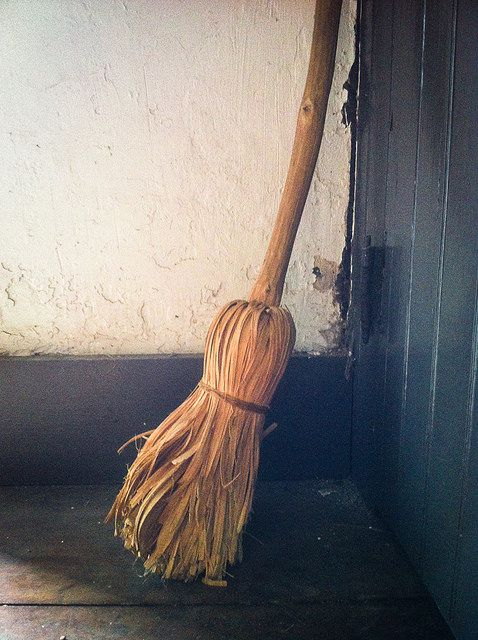 "littlewickedthingsx: "" Broom Parking by Danielle_M_Bedics on Flickr. """