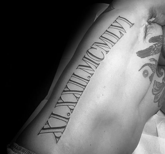 Best 25+ Roman numeral tattoo font ideas on Pinterest ...