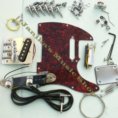 how to build an electric guitar neck