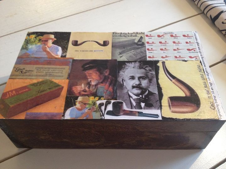 Gjorde en personlig låda till pipgrejer :-)