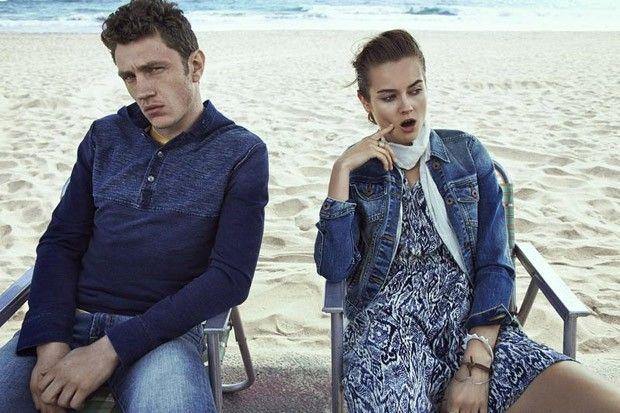 Monika Jac Jagaciak For Lucky Brand Jeans FW15