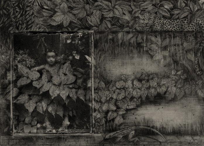 """© Sarah Moon + Ilona Suschitzky. Nina, de la série """"Ailleurs"""", 2010"""