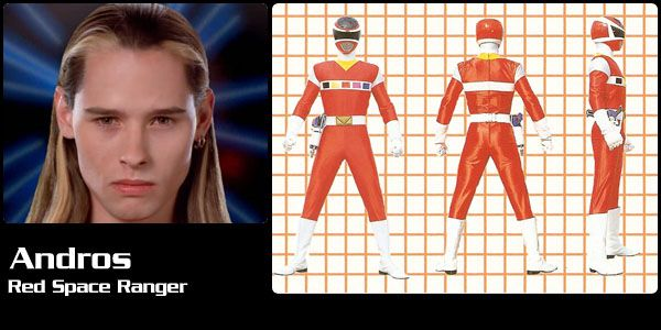 Andros (Red Space Ranger) - Power Rangers in Space | Power Rangers Central