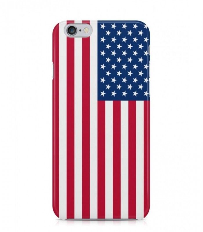 United States or US or American Flag 3D Iphone Case for Iphone 3G/4/4g/4s/5/5s/6/6s/6s Plus - FLAG-US - FavCases