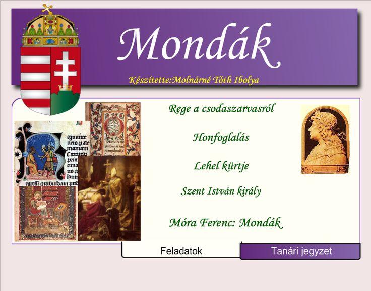 Fotó itt: Történelmi mondák 3-4. osztály              interaktív tananyag - Google Fotók