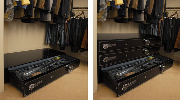 Choosing the best gun safe for your home and furniture for Bedroom furniture gun safe